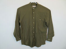 Yves Saint Laurent Banded Collar Collarless Dress Shirt Men's Size 15.5 / 32-33