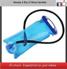 Vessie à eau 2 litres lavable poche à eau gourde  rando vélo moto