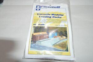 HO scale Pikestuff versatile modular loading docks freight car ramp KIT