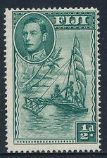1941 FIJI ½d GREEN MINT MLH SG249a PERF 14