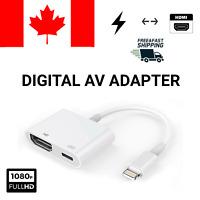 New Lightning To HDMI Digital AV TV Adapter Cable iPad iPhone XS XR X 8 7 6 Plus