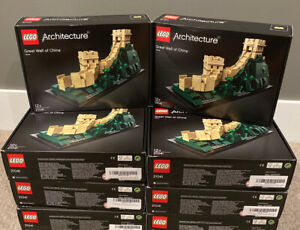 Lego 21041 Architecture Great Wall of China - New Sealed Retired, Box Damage