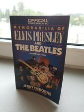 Official Price Guide To Memorabilia Of Elvis Presley & The Beatles first edition