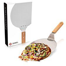 Zobel Pizzaschaufel Pizzaschieber Pizzawender Pizzaheber für Pizzastein 25,5cm