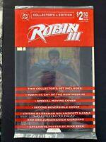 ROBIN III CRY OF THE HUNTRESS COLLECTORS SET #2 DC COMICS 1993 NM+  SEALED