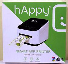 NEW Zink hAppy Wireless Multifunction Portable Printer Ink-free Digital Color
