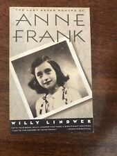 The Last Seven Months of Anne Frank by Willy Lindwer (1992, Trade Paperback)