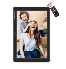 RegeMoudal 12 Inch Electronic photo frame with Wireless Remote