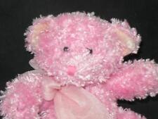 RUSS BERRIE TEDDY BEAR PINK BUBBLES BUBBLEGUM SPARKLE PLUSH STUFFED ANIMAL