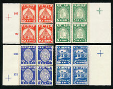 Estonia Stamps 1936 Pirita Full Set Block MNH !!!