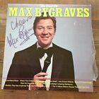 SIGNED AUTOGRAPHED MAX BYGRAVES. the Best Of LP RECORD ALBUM