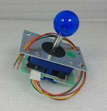 Japan Seimitsu Clear Blue Joystick With 5 Pin Hanress Arcade Parts LS-32-10
