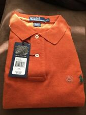 Polo Ralph Lauren Mesh Short Sleeve Orange w/ Green Pony CLASSIC FIT XXL NWT NEW