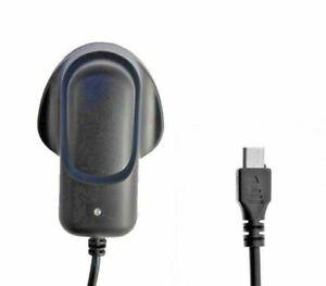 UK MAINS MICRO USB WALL PLUG MOBILE PHONE CHARGER FOR SAMSUNG GALAXY J7 J5 J3 J1