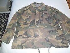CROATIAN Army (Bosnian war issue) BDU camo field jacket, Croat Military 1990s-NM