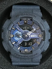 Casio G-Shock GA-110DC-1A Denim Blue Analog Digital Men's Watch