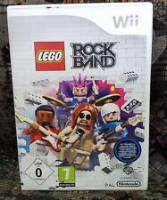 Wii Spiel LEGO Rock Band mit Anleitung guter Zustand + OVP