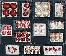 Christbaumschmuck Weihnachtskugeln Figuren aus Glas Anhänger Baumschmuck Baumbeh