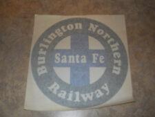 """BNSF 11"""" x 11"""" Sign Reflective Applique"""