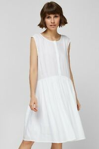 Superdry Textured Day Dress - Optic, W8010688A - BNWT