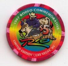 Las Vegas RIO 1997 Rodeo Commemorative $5 Casino Chip LE