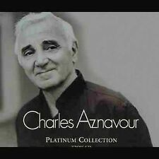 Platinum Collection by Charles Aznavour (CD, Jul-2004, 3 Discs, Emi)