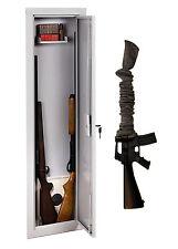 """Stack-On IWC-55 Long Gun Wall Safe Rifle Shotgun Cabinet Plus Free 52"""" Gun Sock"""