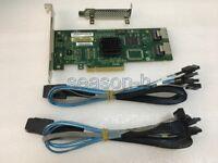 LSI 3081E-R 3Gb/s 8 Port 1068E Host  Controller Card PCIE+8087 to (4) 7-Pin SATA