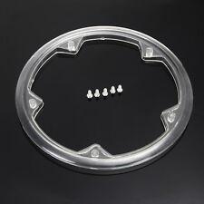 3x Plastic Road Bike Chain Wheel Cover Chain Guard Ring Crankset Protective Cap