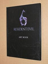Resident Evil 6 Artbook Art Book 18x13cm 28 pages