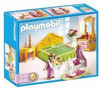 BNIB PLAYMOBIL 5146 PALACE Princess Bed Chamber with Cradle set - RARE!