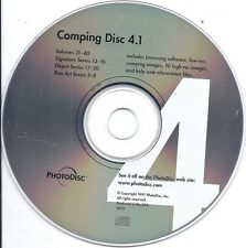 PhotoDisc Comping Disc 4.1 Volumes 31-40 Signature 13-16 Fine Art 5-8 Object 17