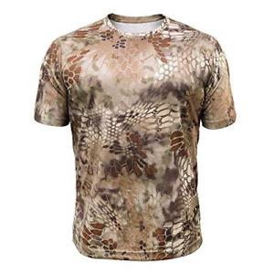Kryptek Hyperion SS Crew - Short Sleeve Camo Hunting & Fishing Shirt L