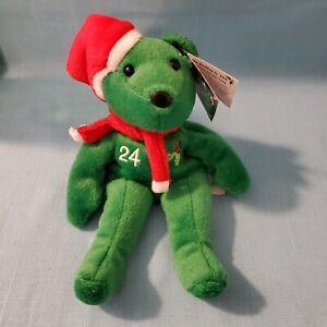 "VINTAGE - SALVINO'S BAMM BEANO'S ""KEN GRIFFEY JR.""  CHRISTMAS GREEN 1998 LOOK!!"
