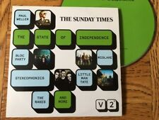 Sunday Times: The State of Independence (CD Compilation) Bloc Party, Midlake...