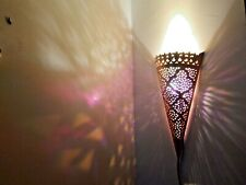 15,7 inches Moroccan Wall Sconce, Hanging Wall Light Boho Lighting, Modern Light