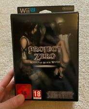 NINTENDO WII U UK PAL: Project Zero: Maiden of Black Water Limited Edition RARE