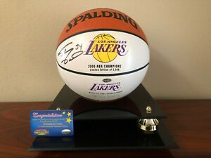 LA Lakers Shaq signed 2000 NBA Championship Limited Edition Basketball NEW COA