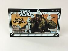 Star Wars dewback Box Front Only backdrop For Display