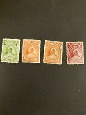niger coast protectorate 1894 Mlh 4 queen stamps