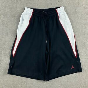 Air Jordan Men's Basketball Shorts Large Stretch Drawstring 100% Polyester L