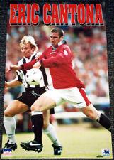 Rare Vintage Original ERIC CANTONA Manchester United 1996 Soccer Football Poster