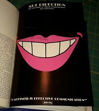 "ART DIRECTION April thru Juy 1969 ""Magazine of Visual Communications"" 4 months."