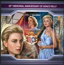 MALDIVES 2018 35th MEMORIAL ANN OF GRACE KELLY  SOUVENIR SHEET MINT NEVER HINGED