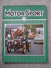 Motor Sport (Dec 1969) Ford Capri 3000GT XLR, Ken Tyrrell, Maxi, Fiat, Beardmore