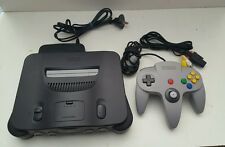 Nintendo 64 Console With Controller & All Plugs READY TO PLAY N64 FREE POSTAGE!