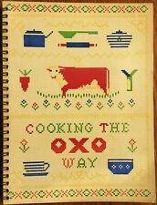 Vintage Cuisine Livre - Cooking The Oxo Way. Simple Après-guerre Savoureux