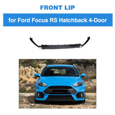 Carbon Fiber Front Bumper Lip Spoiler Fit For Ford Focus RS MK3 Hatchback 16-18