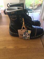 Doc Martens Vintage Smooth Capper 1460 BlackLeather Boots Uk3/36 Limted Edition