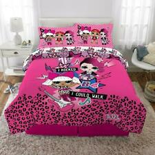 Kids Bedding L.O.L. Surprise Bed in a Bag Set 5-Piece Full, Pink
